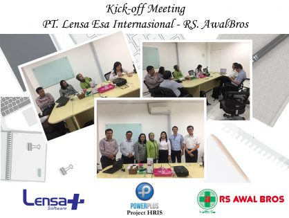 Kick-off Meeting PT. Lensa Esa Internasional & RS. Awal Bros