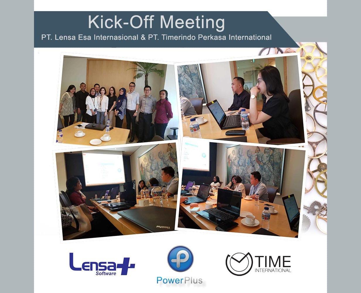 Kick-off Meeting PT. Lensa Esa Internasional & PT. Timerindo Perkasa International